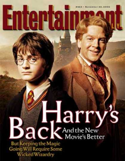 "Entertainment Weekly - How ""potter""'s Wizards Plan To Keep the Magic Going"