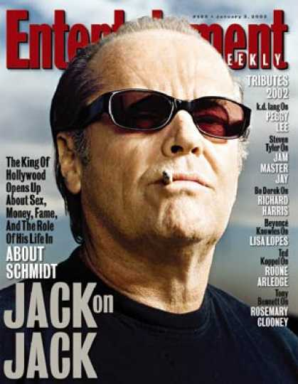 Entertainment Weekly - Ew's Candid Q&a With Jack Nicholson