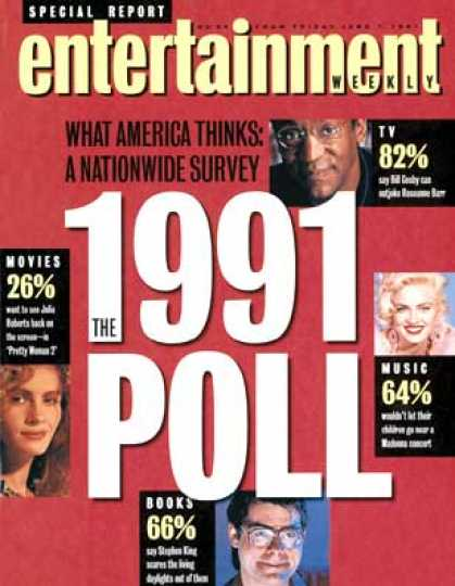 Entertainment Weekly - The 1991 Poll