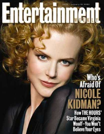 "Entertainment Weekly - How Nicole Kidman Did An About-face For ""The Hours"""
