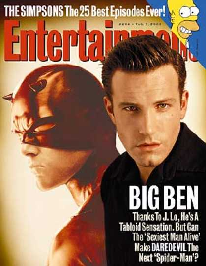 "Entertainment Weekly - Ben Affleck Opens Up About ""daredevil"" and J. Lo"