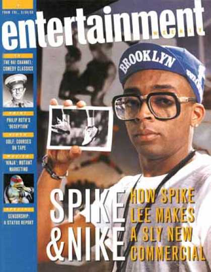 Entertainment Weekly - Spike and Nike