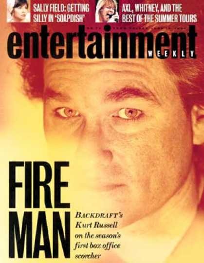 Entertainment Weekly - Kurt Russell Yells Fire In Crowded Theaters!