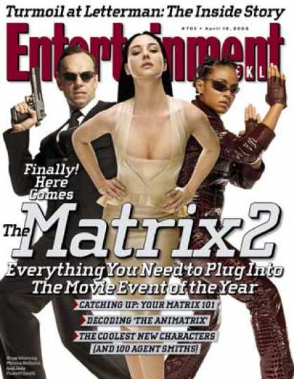 "Entertainment Weekly - Plug Into the ""matrix"" Sequel With Ew's Primer"