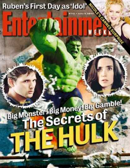 "Entertainment Weekly - Why ""The Hulk"" Was A Monster To Make"