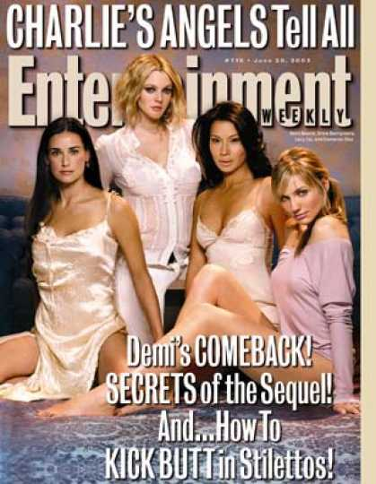 "Entertainment Weekly - Charlie's Angels Bare All About ""full Throttle"""