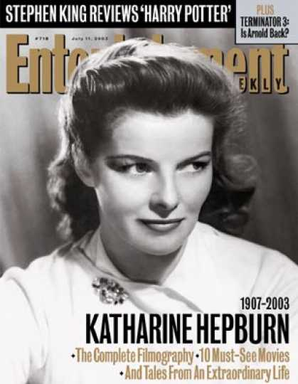 Entertainment Weekly - Katharine Hepburn