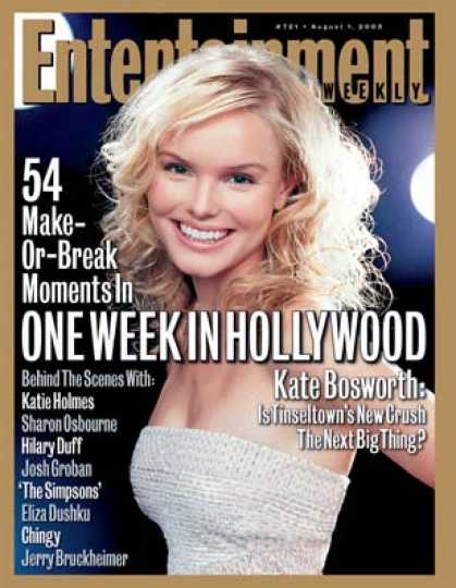 Entertainment Weekly - Get A Behind-the-scenes Peek At Hollywood