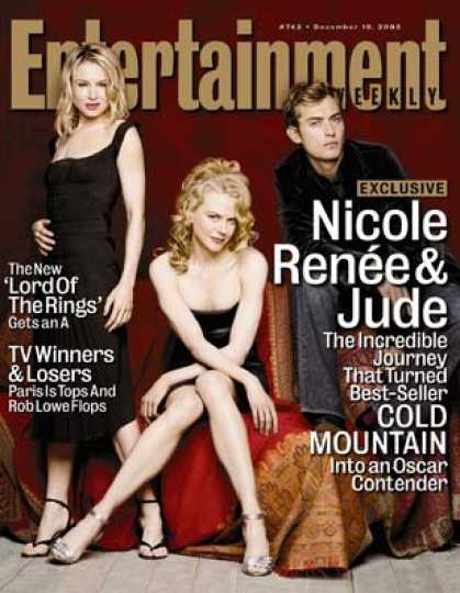 "Entertainment Weekly - How ""cold Mountain"" Changed Nicole, Jude, and Renee"