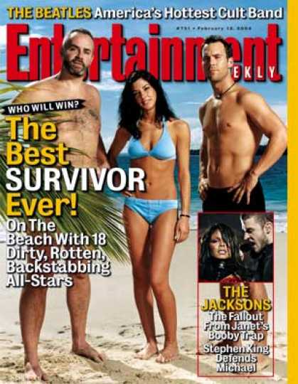 "Entertainment Weekly - On the Pearl Islands With the ""survivor"" All-stars"