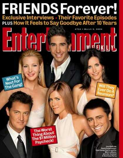 "Entertainment Weekly - ""friends"" Exclusive: Ew Interviews the Cast"