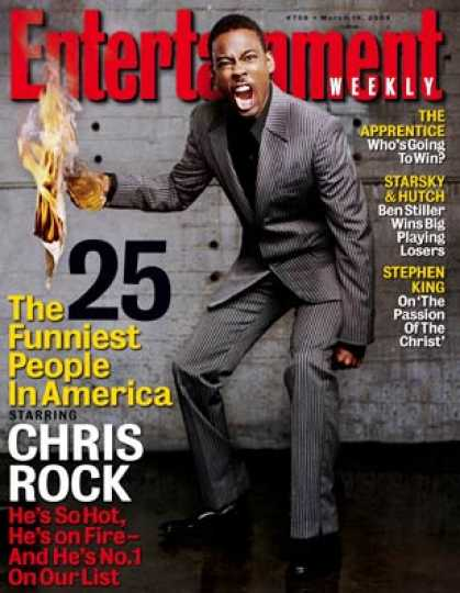 Entertainment Weekly - How Chris Rock Became America's Funniest Person