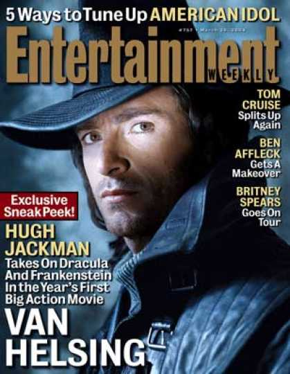 "Entertainment Weekly - Ew Exclusive: Get A Sneak Peek At ""van Helsing"""