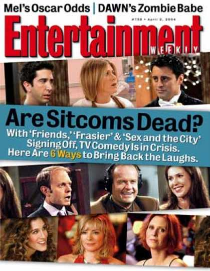 Entertainment Weekly - Are Sitcoms Dead? Tv Writers Discuss Their Art