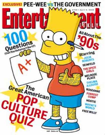 Entertainment Weekly - Put Your 90's Pop Culture Knowledge To the Test