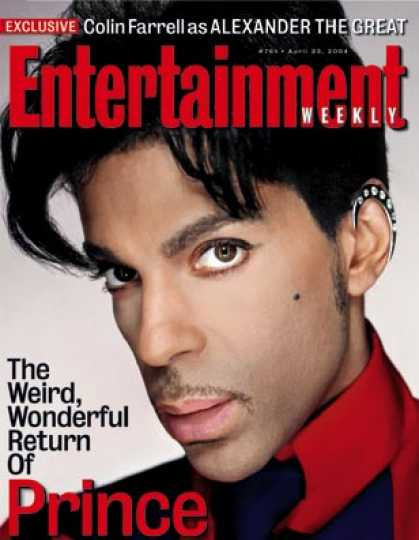Entertainment Weekly - Interview: Meet Prince, the Clean Version