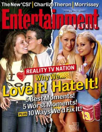 Entertainment Weekly - Bugged by Reality Tv? See Our 10 Tips For Fixing It