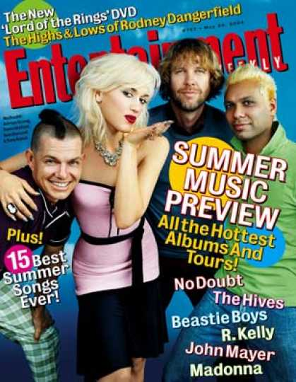 Entertainment Weekly - No Doubt On Their Hits Tour and Gwen's Solo Album