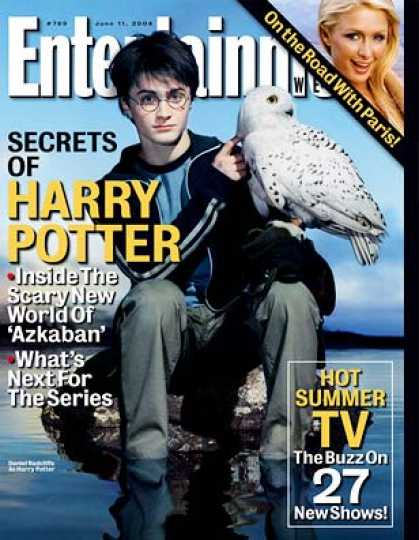 "Entertainment Weekly - Inside ""harry 3"": The Scary New World of ""azkaban"""