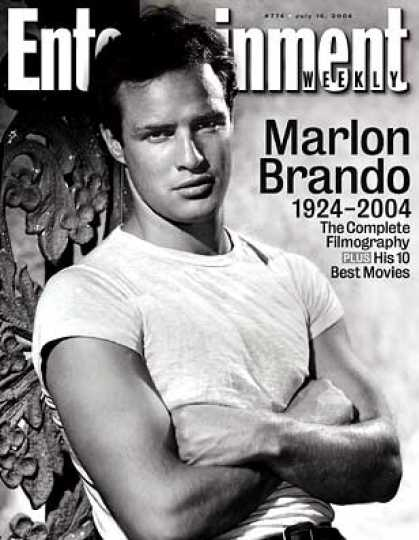 Entertainment Weekly - A Tribute To Marlon Brando, by Ew's Lisa Schwarzbaum