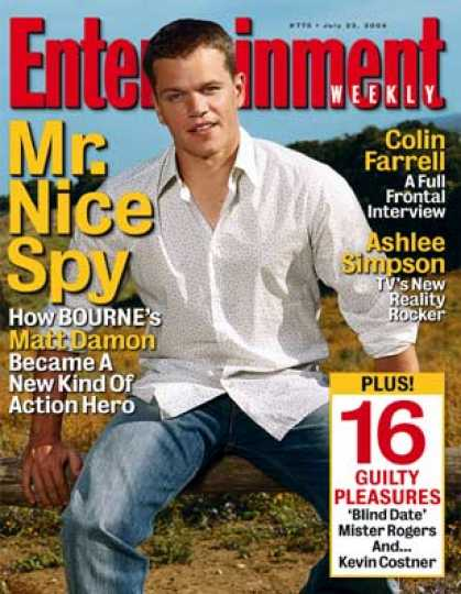 "Entertainment Weekly - How the ""bourne"" Movies Revived Matt Damon's Career"