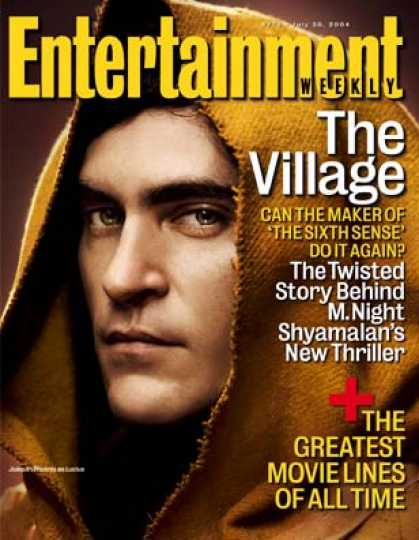 "Entertainment Weekly - A Trip Into M. Night Shyamalan's ""village"""