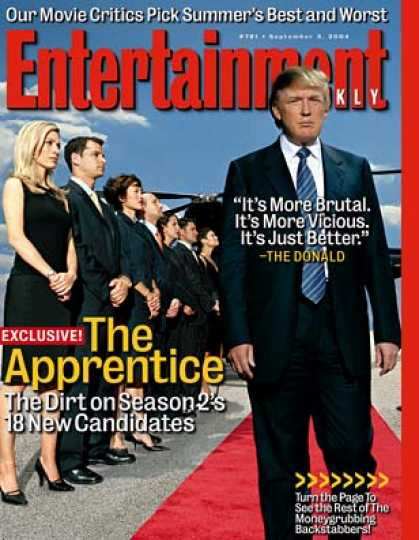 "Entertainment Weekly - See Who's Who On ""The Apprentice 2'"