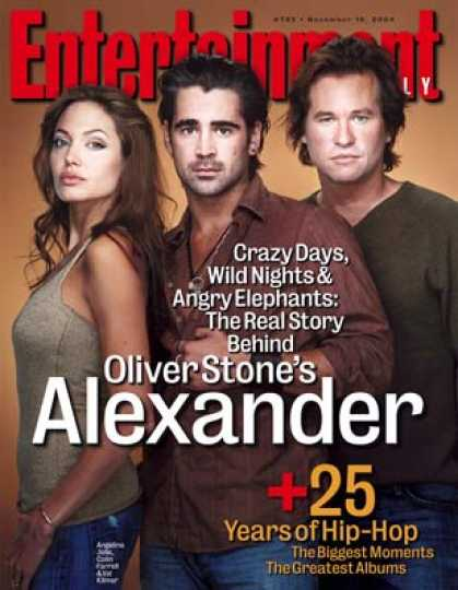 "Entertainment Weekly - Wild Things: Inside the Making of ""alexander"""