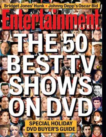 Entertainment Weekly - The Tv Shows On Dvd You Need To Own