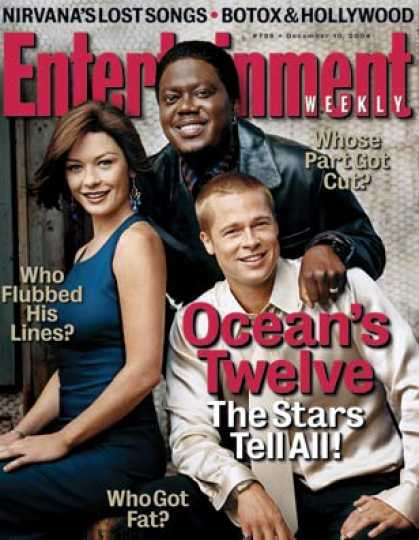 "Entertainment Weekly - Hanging With the All-star Cast of ""ocean's Twelve"""