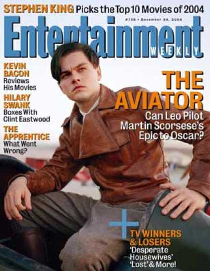 "Entertainment Weekly - How ""The Aviator"" Got Off the Ground"