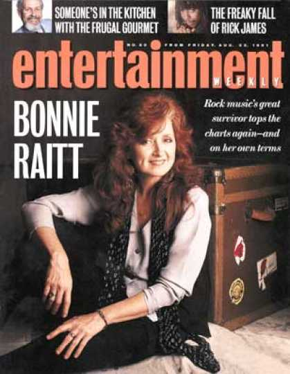Entertainment Weekly - Bonnie Raitt Does Not Want To Be A Pop Star