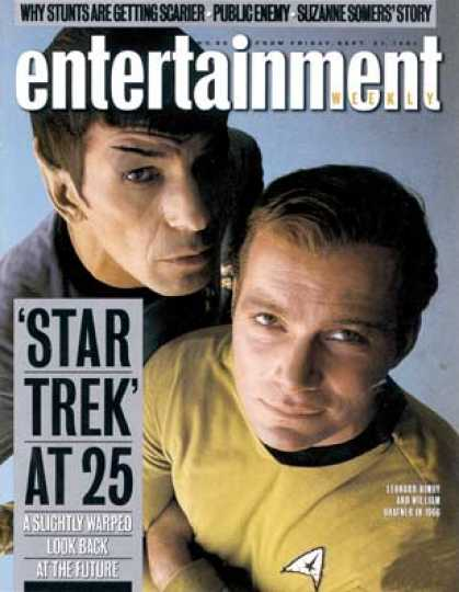 Entertainment Weekly - The 'enterprise' Turns 25