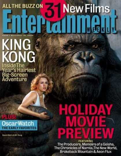 "Entertainment Weekly - ""king Kong"": The Making of the Ape and More"