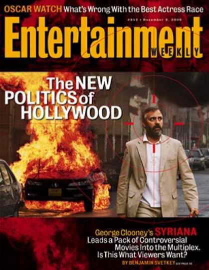 Entertainment Weekly - Ready For Really Political Movies? Get the Scoop