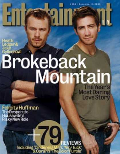 Entertainment Weekly - Jake and Heath On Their Daring Movie Romance