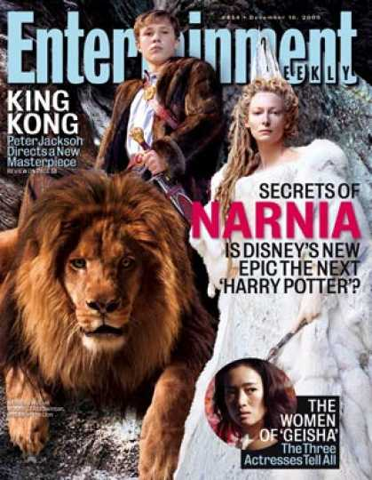 "Entertainment Weekly - The Story Behind ""narnia"": See Photos"
