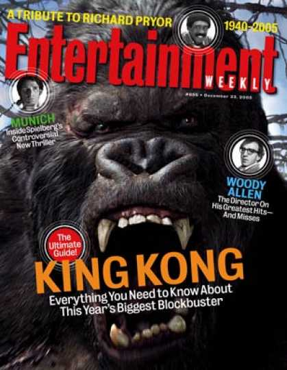 "Entertainment Weekly - ""king Kong"": The Ultimate A-to-z Guide"