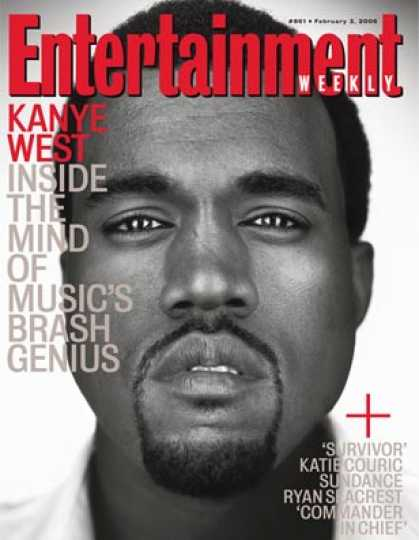 Entertainment Weekly - Kanye Q&a: His Ego, His Biggest Fears, and More