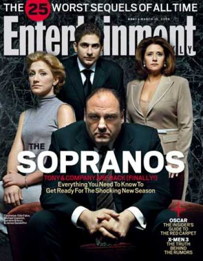 "Entertainment Weekly - ""The Sopranos"": What To Expect From the New Season"