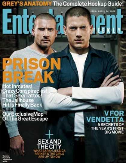 "Entertainment Weekly - A Guide To the Jailbirds of ""prison Break"""