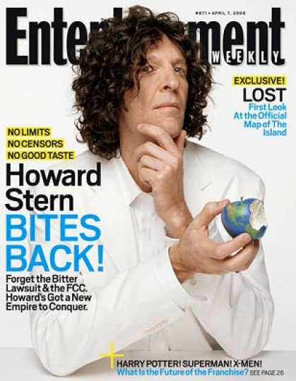 Entertainment Weekly - Hanging With Howard In His Studio