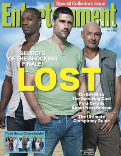 "Entertainment Weekly - ""lost"": Secrets of the Shocking Finale"