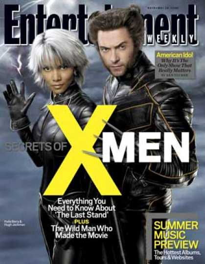 "Entertainment Weekly - A Behind-the-scenes Look At ""x-men: The Last Stand"""