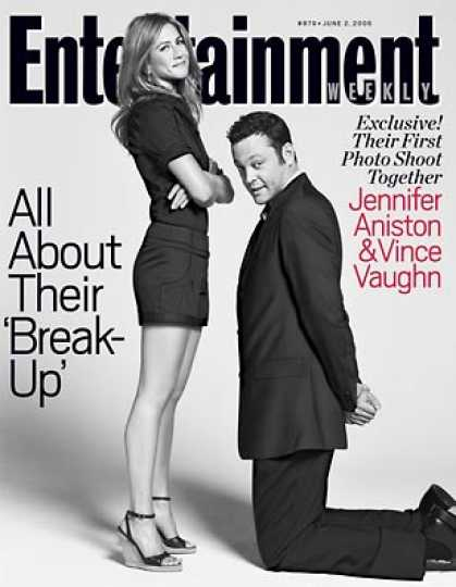 Entertainment Weekly - Exclusive! Our Shoot With Jen and Vince