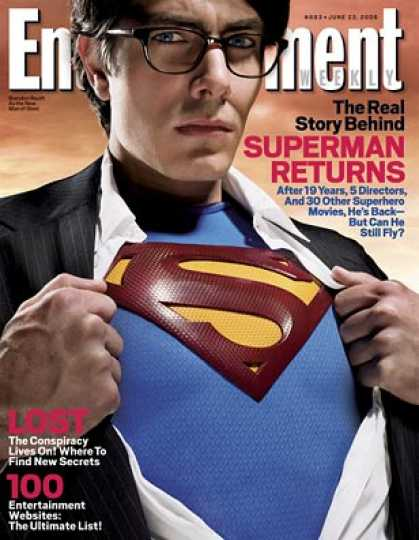 "Entertainment Weekly - The Real Story Behind ""superman Returns"""