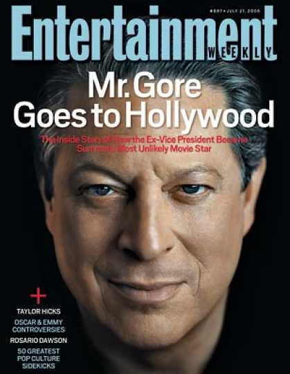 Entertainment Weekly - How Al Gore Tamed Hollywood