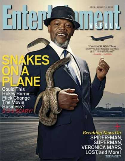 "Entertainment Weekly - ""snakes On A Plane"": Inside Summer's Riskiest Thrill Ride"