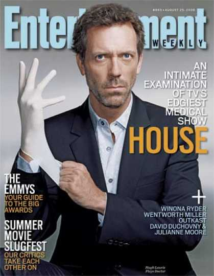 "Entertainment Weekly - ""house"": Tv's Edgiest Medical Show Returns"