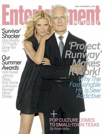 "Entertainment Weekly - How ""project Runway"" Makes It Work"